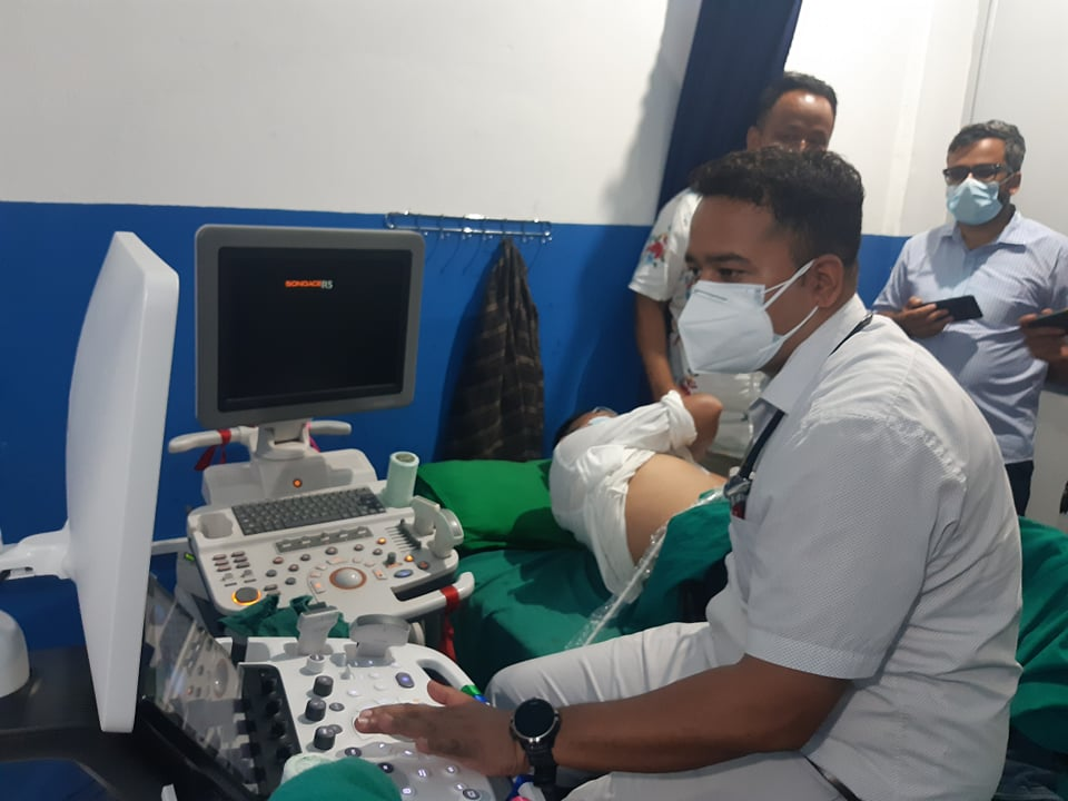 अरनिको अस्पतालमा इको कार्डियोग्राफी सेवा सुरु